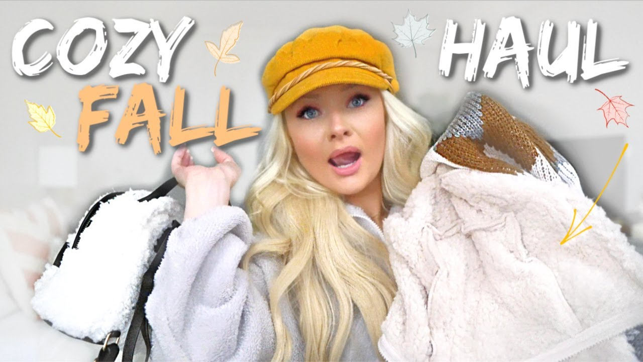 [VIDEO] - COZY FALL CLOTHING HAUL 8