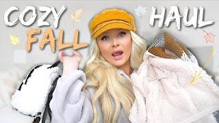 COZY FALL CLOTHING HAUL