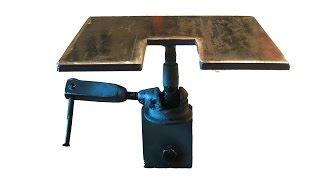 ПОВОРОТНЫЙ СВАРОЧНЫЙ СТОЛИК  СВОИМИ РУКАМИ .  ROTARY WELDING TABLE OWN HANDS(САМОДЕЛЬНОЕ ПРИСПОСОБЛЕНИЕ ДЛЯ СВАРКИ МЕЛКИХ ДЕТАЛЕЙ .Homemade devices for welding of small parts ., 2015-11-06T22:34:01.000Z)