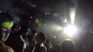 Crazy first person POV of a rave.excision moonrise 2018