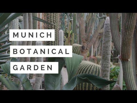 Munich Botanical Garden - Travel Germany 4K