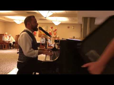 Party Piano music in Calgary by Chance Devlin