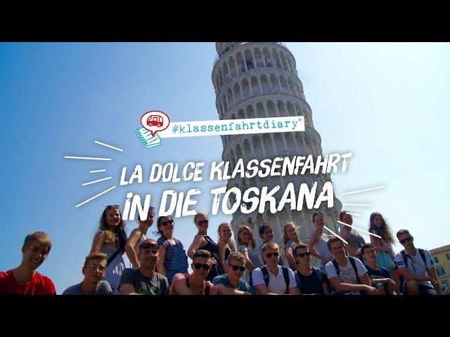 La dolce Klassenfahrt in die Toskana - #klassenfahrtdiary - #kfd - HEROLÉ