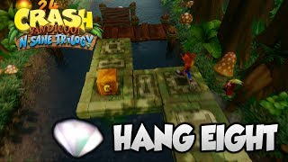 Crash Bandicoot 2 - 'Hang Eight' Clear Gem and All Boxes (PS4 N Sane Trilogy)
