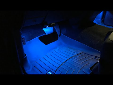 RAM 1500 Footwell Lights Install With Led Upgrade