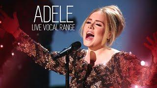 Live Vocal Range: Adele (C3 - A5)