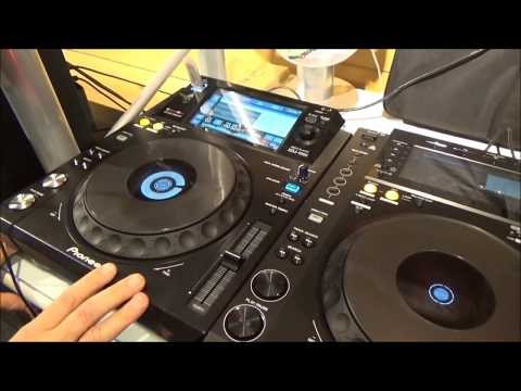 Pioneer XDJ-1000 Pro USB Touch Screen DJ Player
