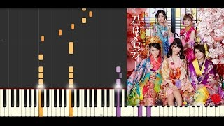 Kimi wa Melody/AKB48/Piano(Hard) thumbnail