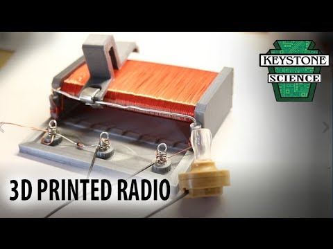 How to make a 3D printed AM radio!