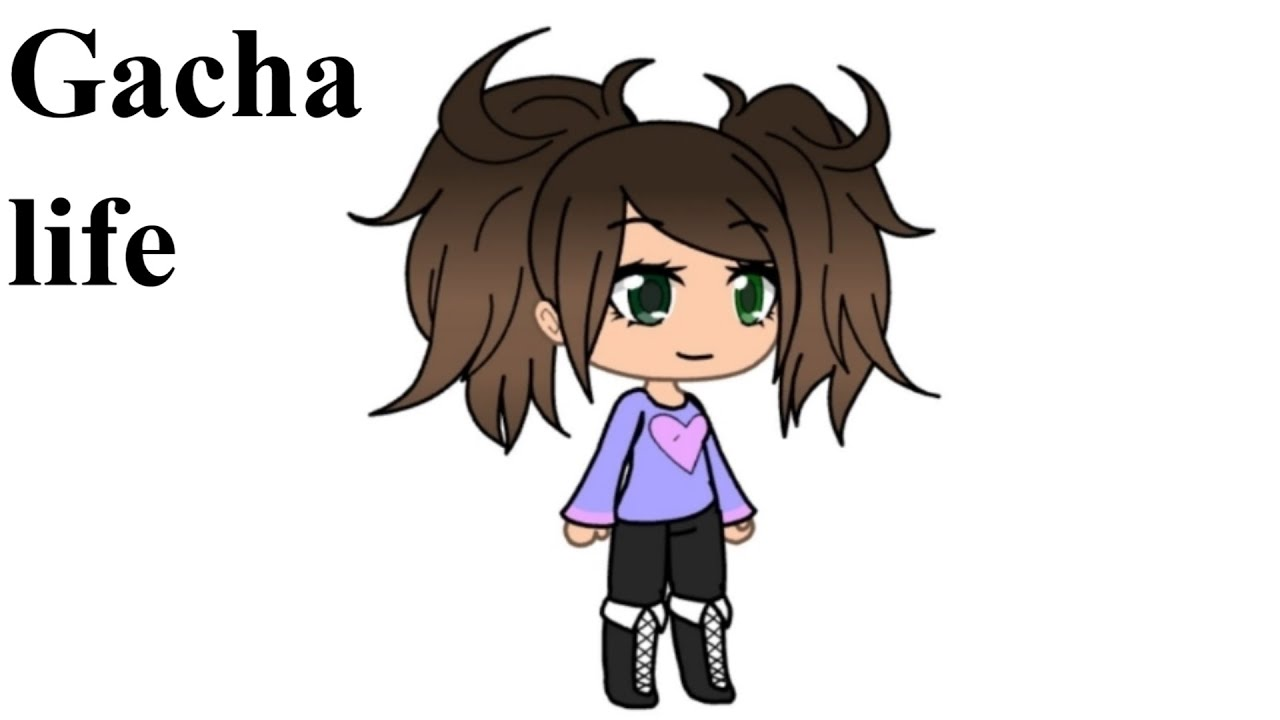 how to draw gacha life girl character drawing and coloring pages for kids