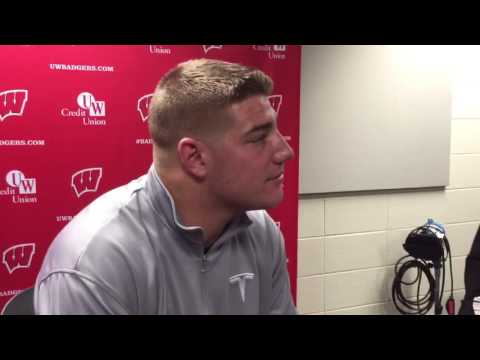 TE Troy Fumagalli discusses position production, team chemistry