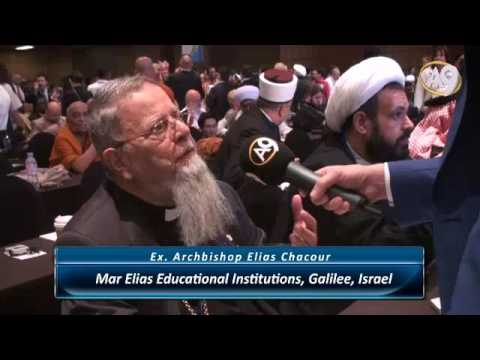 Archbishop Elias Chacour – Mar Elias Educational Institutions,...