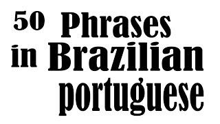 Baixar 50 Phrases in Brazilian Portuguese for Beginners