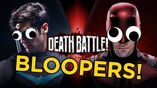 Nightwing VS Daredevil Bloopers!
