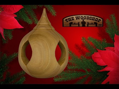 Woodturning Ornament Inside Out Turning Youtube
