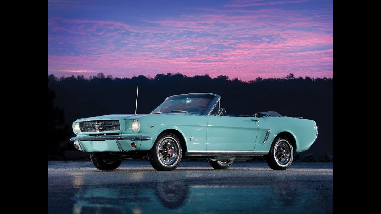 Ford mustang convertible z 1965r