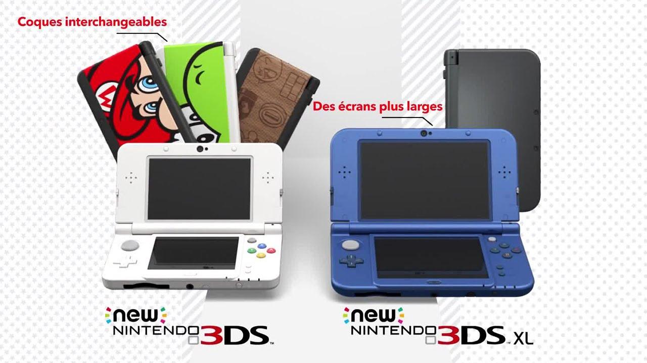 new nintendo 3ds et new nintendo 3ds xl les nouvelles consoles