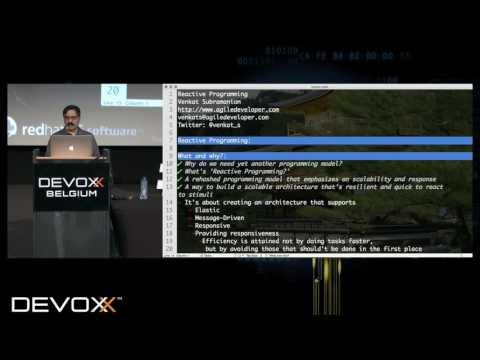 Reactive Programming by Venkat Subramaniam