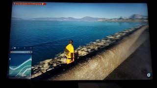 Watchdogs 2 : PS4Pro 1080p vs 2160p Performance Test
