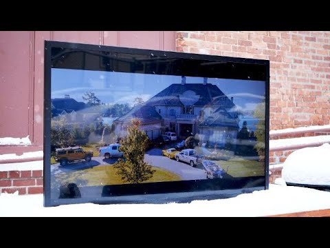 SunBrite Outdoor 4K TV Review: Watching TV in the snow