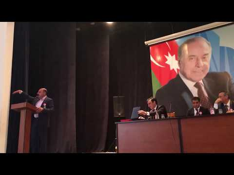 Azerbaycan Şabran VII. Şairler Günü Programı M. Nuri Parmaksız Konuşması ve Kelebek Ömrü Şiiri