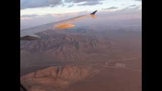 United Airlines Airbus A320 - San Francisco to Las Vegas, USA