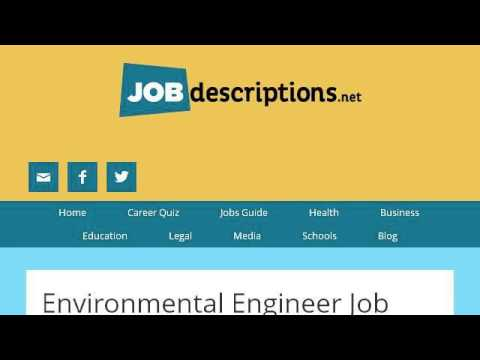 Environmental Lawyer Job Description - Youtube