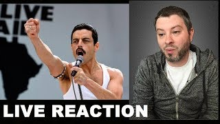 Bohemian Rhapsody Trailer REACTION