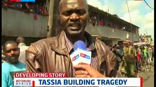 Rescue operation ongoing following the collapse of a six storey building in Tassia, Nairobi