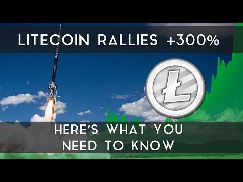 Litecoin Rallies +300% | Here's what you need to know