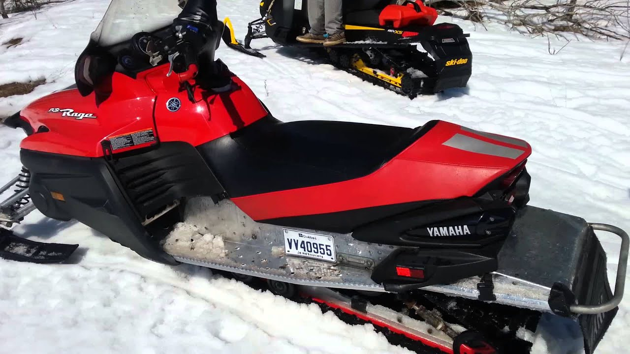 Yamaha Venture Rs Snowmobile