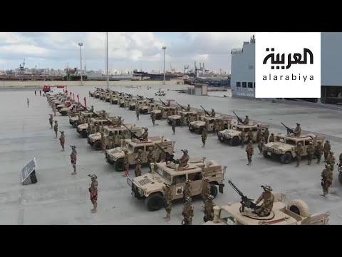 الجيش المصري يجري مناورات عسكرية قرب حدود ليبيا  - نشر قبل 3 ساعة