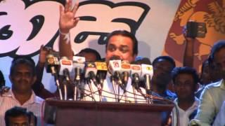Wimal Weerawansa Speech 2015.03.06 Dewana Jathika Reliya - Kandy  video part 01
