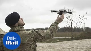 Ministry of Defence shows off new range of military robotics