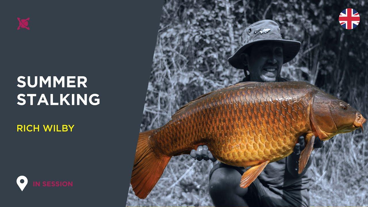 ***Stalking Summer Carp*** - Rich Wilby- Carp Fishing TV