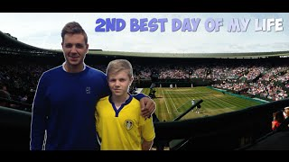2ND BEST DAY OF MY LIFE (3rd time at Wimbledon (semi-finals), National Tennis Centre, Marcus Willis)