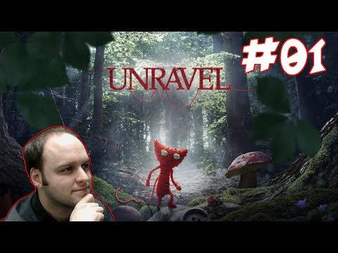 This Is Probably One Of The Cutest Game I Have Ever Played! - Unravel - Gameplay [#01]