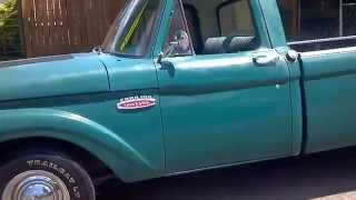 65 Ford F-100 352 With Mutha Thumpr Cam