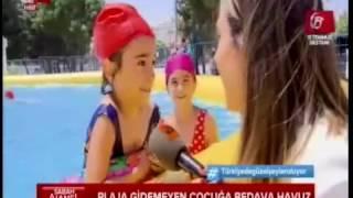 A haber- Sultangazi Belediyesi portatif havuz