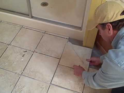 Do It Yourself with Bill Bell: Installing a Tile Floor Part 4 - YouTube