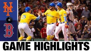 Mets vs. Red Sox Game Highlights (9/22/21) | MLB Highlights