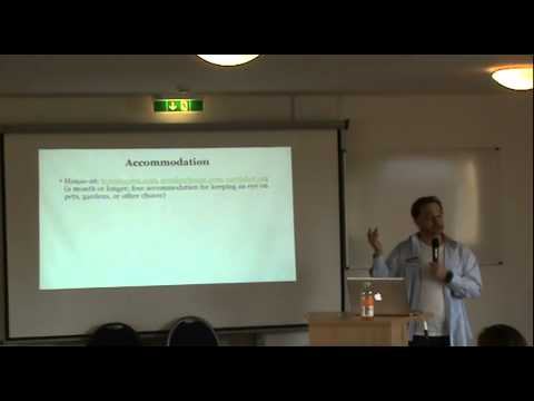 Travel Hacking - Benny Lewis At The Polyglot Gathering Berlin 2014