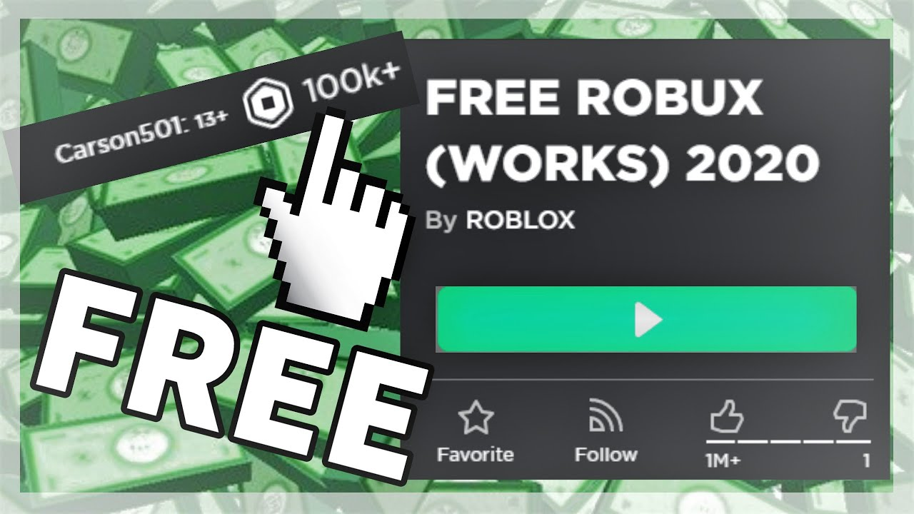 Free Robux By Playing Roblox Every How To Get Free Roblox Robux 2020 Ever Every Blank Ever Youtube