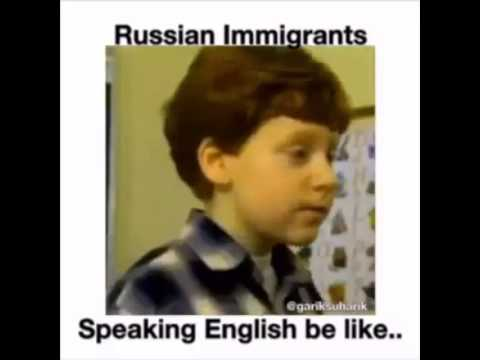 Russian speaking english