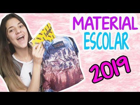 MATERIAL ESCOLAR 2019|QUE HAY EN MI MOCHILA?