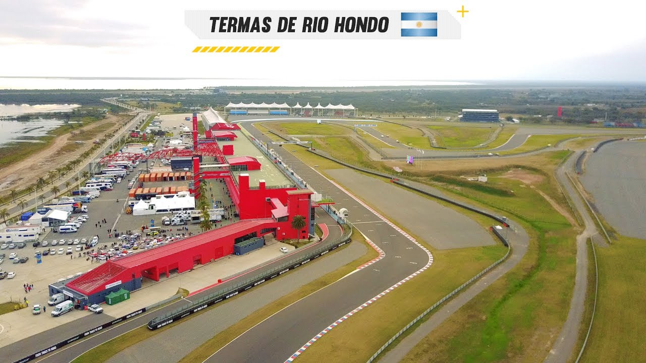 Drone shots Termas de Rio ...