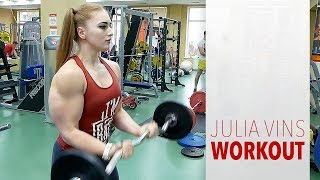 "My Workout | Julia ""MuscleBarbie"" Vins"