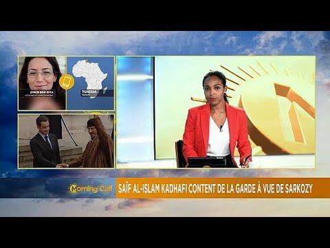 Saif al-Islam Gaddafi welcomes Sarkozy's arrest [The Morning Call]