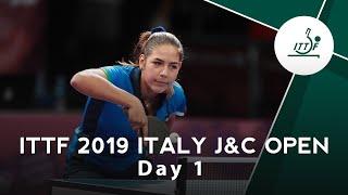2019 ITTF Italy Junior & Cadet Open Day 1