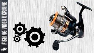 Профілактика рибальської котушки. Чищення і змащення (HD)